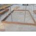 Деревянный фундамент для теплицы, длина 4 метра. ДОСКА 50х150 мм