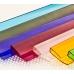 Профиль торцевой UP-8-10мм L=2.1м, цветной